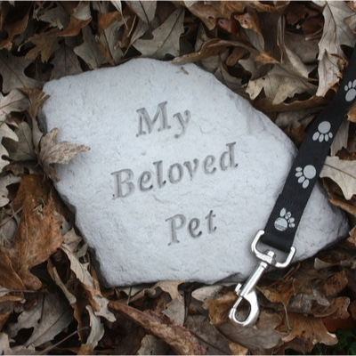A Pet Memorial Stone